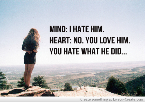 Mind Vs Heart Discovered By Liveluvcreate On We Heart It