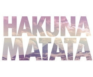 hakuna matata, quotes, and no image