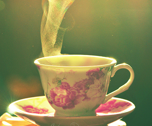 cup, Hot, and steam image