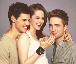 kristen stewart, Taylor Lautner, and twilight image
