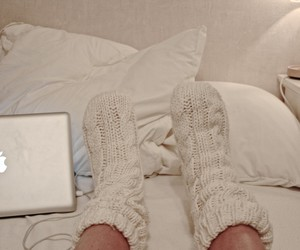 blogger, cosy, and knitted image