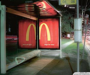 cool, creative, and McDonald's image