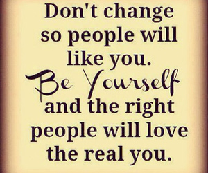 quotes, be yourself, and people image
