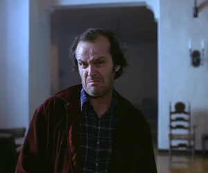 The Shining and jack nicholson image