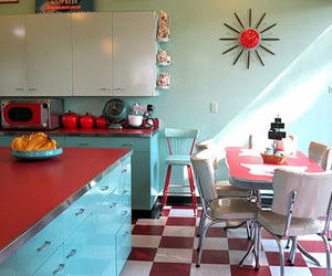 50's, design, and kitchen image