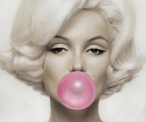 bubble gum, gum, and chewing gum image