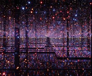 light, mirror, and art image