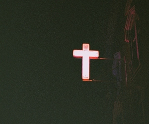 cross, grunge, and dark image