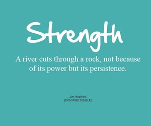 quote, strength, and motivation image