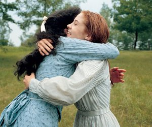anne of green gables and anne and diana image