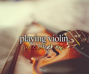 violin, instrument, and music image