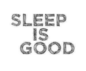 sleep, good, and quote image