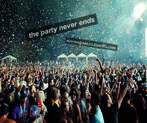 party, photography, and rave image