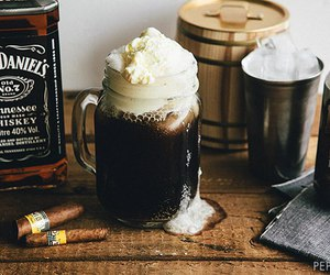 drink and whiskey image