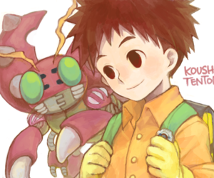 digimon, digimon adventure, and tentomon image