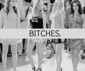bitch and mean girls image