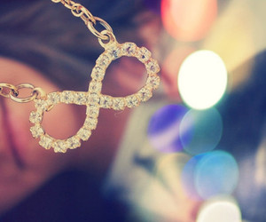 infinity, necklace, and forever image