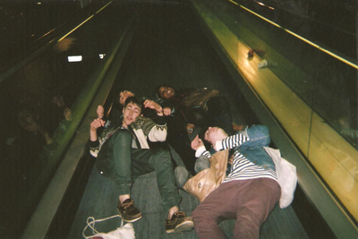 friends, boy, and drunk image