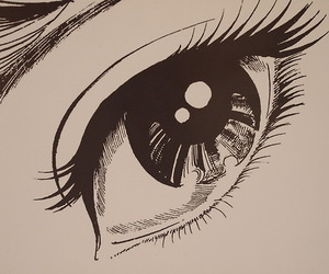 eye, art, and anime image