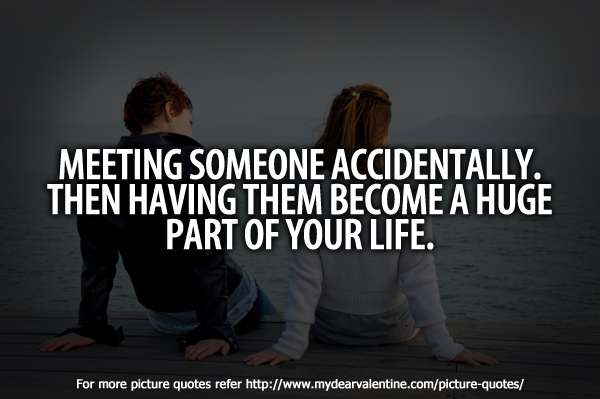Meeting Someone Discovered By Marlen On We Heart It