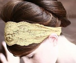 hair, pretty, and vintage image
