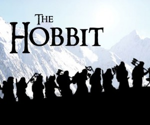 the hobbit, hobbit, and gandalf image