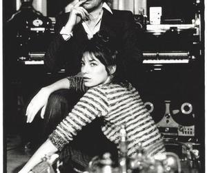 jane birkin, serge gainsbourg, and 60s image