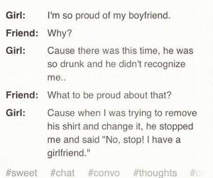 boyfriend, girlfriend, and drunk image