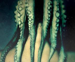 hair, photograph, and tentacles image