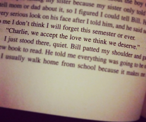 accept, perks of being a wallflower, and perks image
