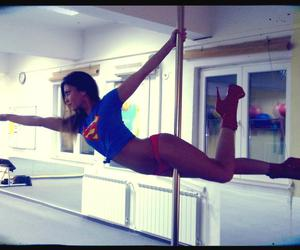 pole dance, sexy, and Supergirl image