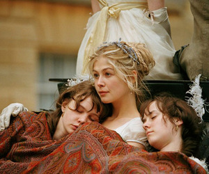 pride and prejudice, jane austen, and movie image