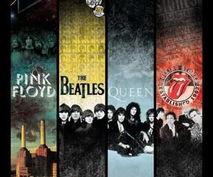 Queen, Pink Floyd, and the beatles image