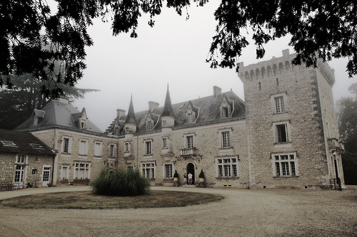 architecture, france, and countryside image