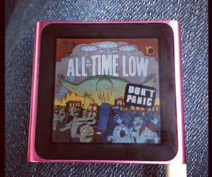 ipod and ipod all time low music image