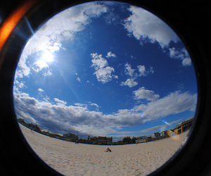 beach, clouds, and new image