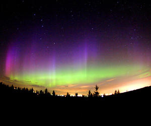 colours, finland, and northern lights image