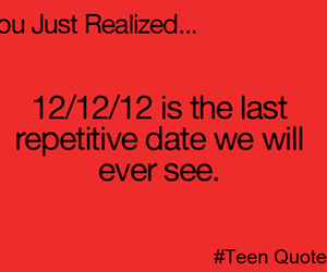 quote, date, and true image