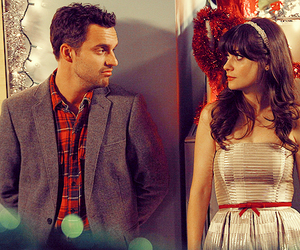 new girl, zooey deschanel, and nick image