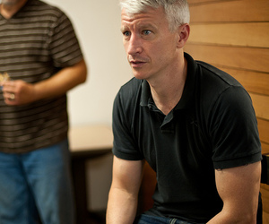 cnn, anderson cooper, and port-au-prince image