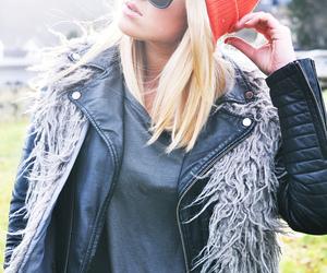 beautiful, black, and blonde image