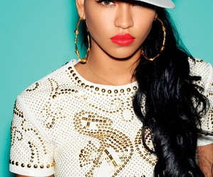 cassie, swag, and red lips image