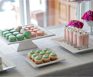 bakery, lovely, and macaron image