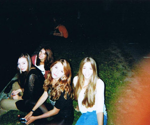 girl, indie, and friends image