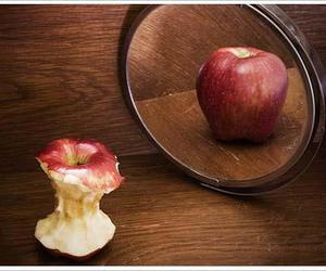apple, true, and girl image