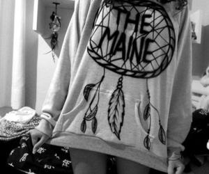 black and white, girl, and the maine image
