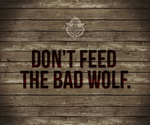 wolf, bad, and typography image