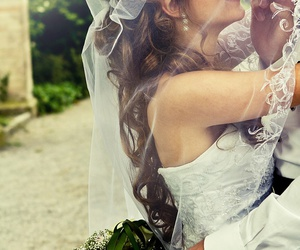 photography, pretty, and wedding image