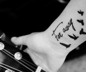 tattoo, far away, and bird image