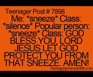funny, lol, and sneeze image